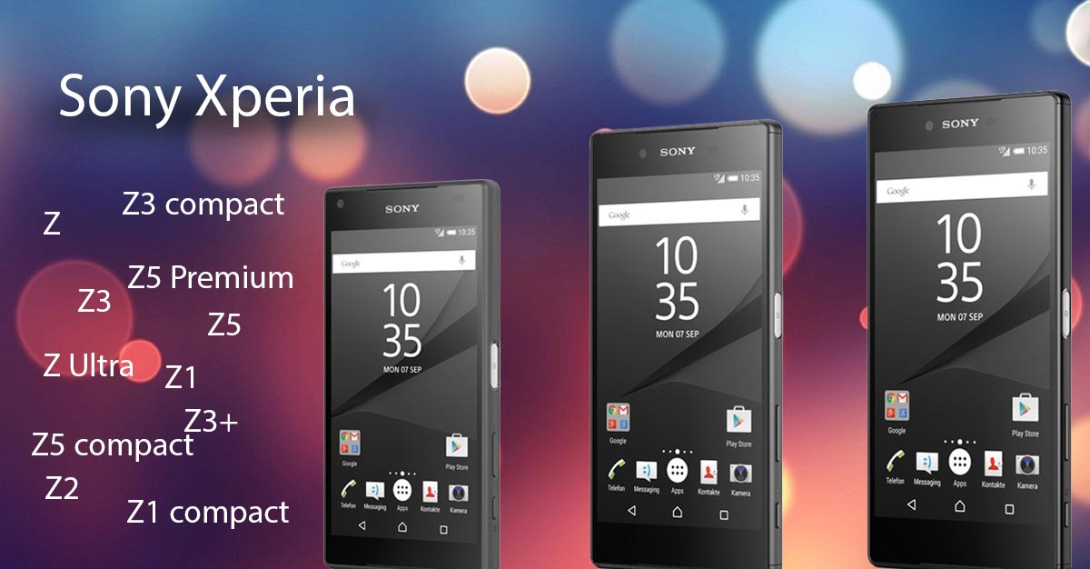 Sony Xperia Handy Reparaturen